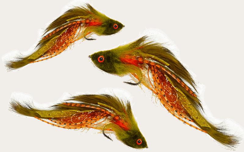 articulated streamer flies, dread head flies, streamer flies, fly fishing flies, streamer flies for large trout, bass flies, streamers for bass flies
