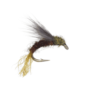 snowshoe baetis emerger fly, baetis emerger fly, bwo emerger, blue wing olive emerger, dry fly, trout flies, olive emerger