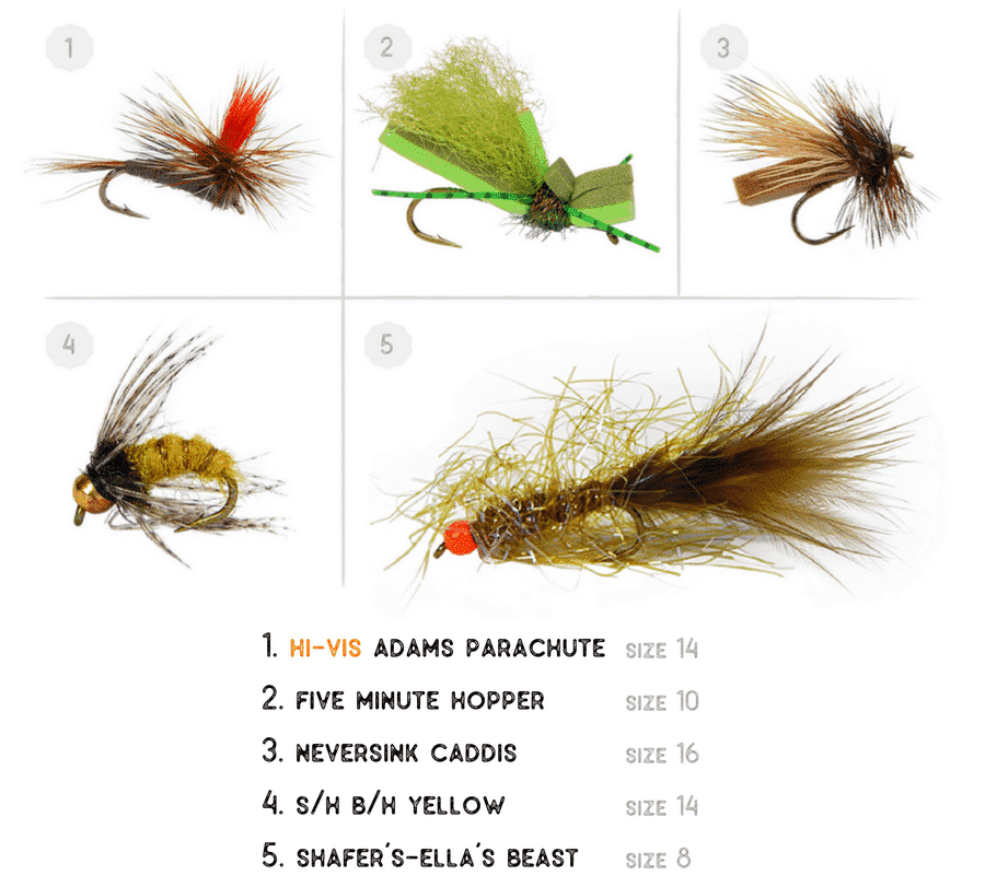 free fly pack with purchase, join and get a free fly assortment, free trout flies, trout flies for free, join the troutbum crate, fly fishing subscription box
